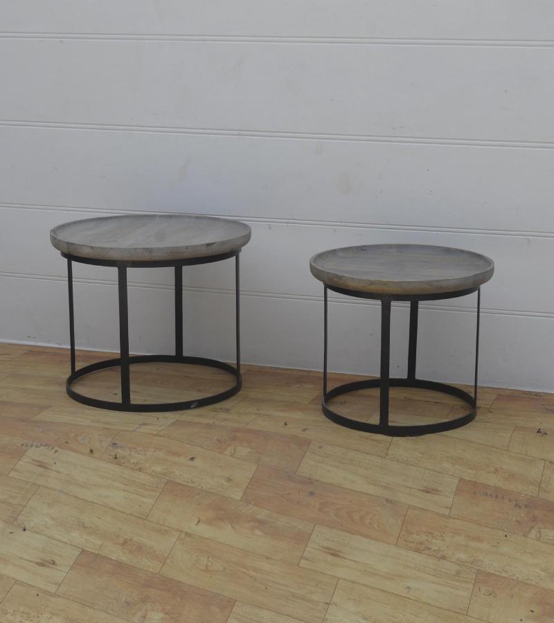 WDN+IRON COFFEE TABLE