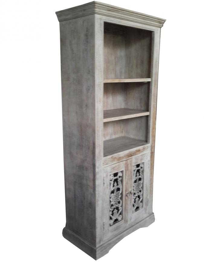 WOOD CAST  IRON CABINET