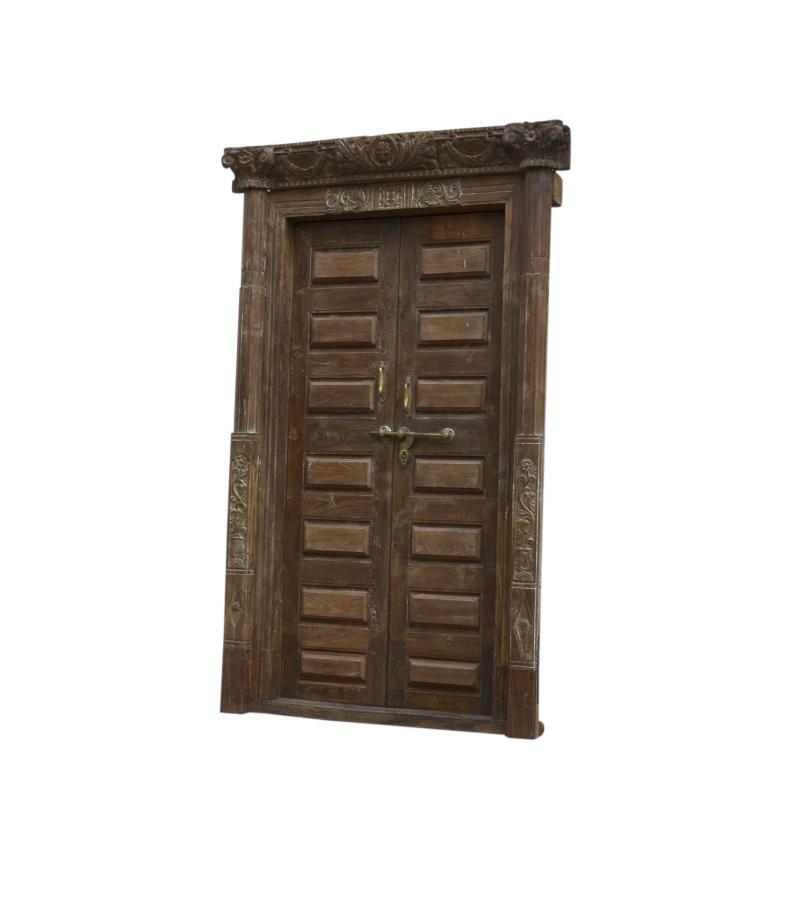 WDN. DOOR WITH FRAME