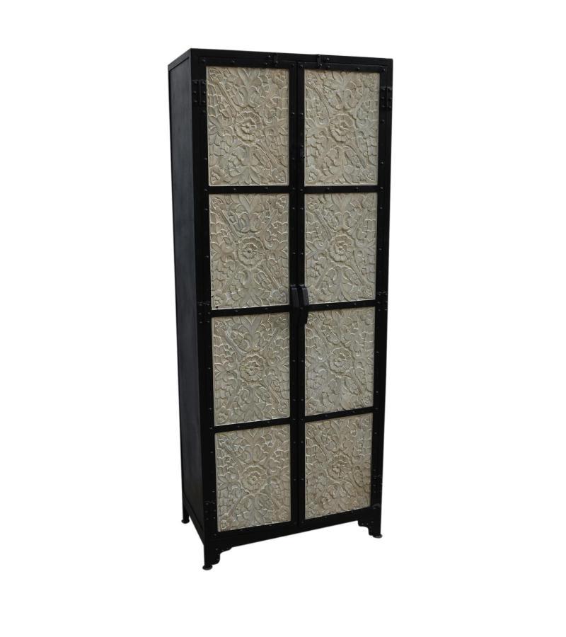 Metal/wood cabinet