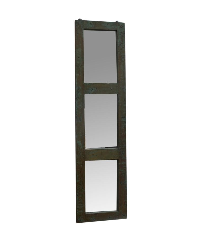 WOODEN DOOR MIRROR