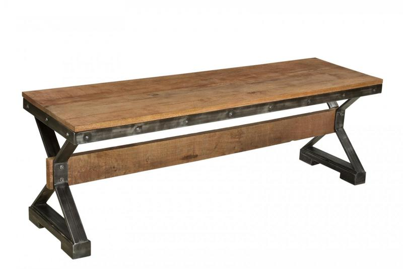 WD. TOP IRON BENCH