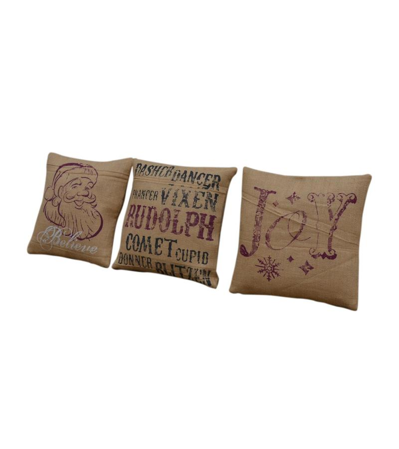 CUSHION COVER SET OF 3