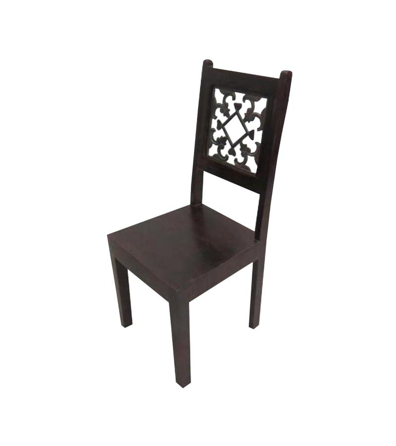 Solid Wood & Iron Chair