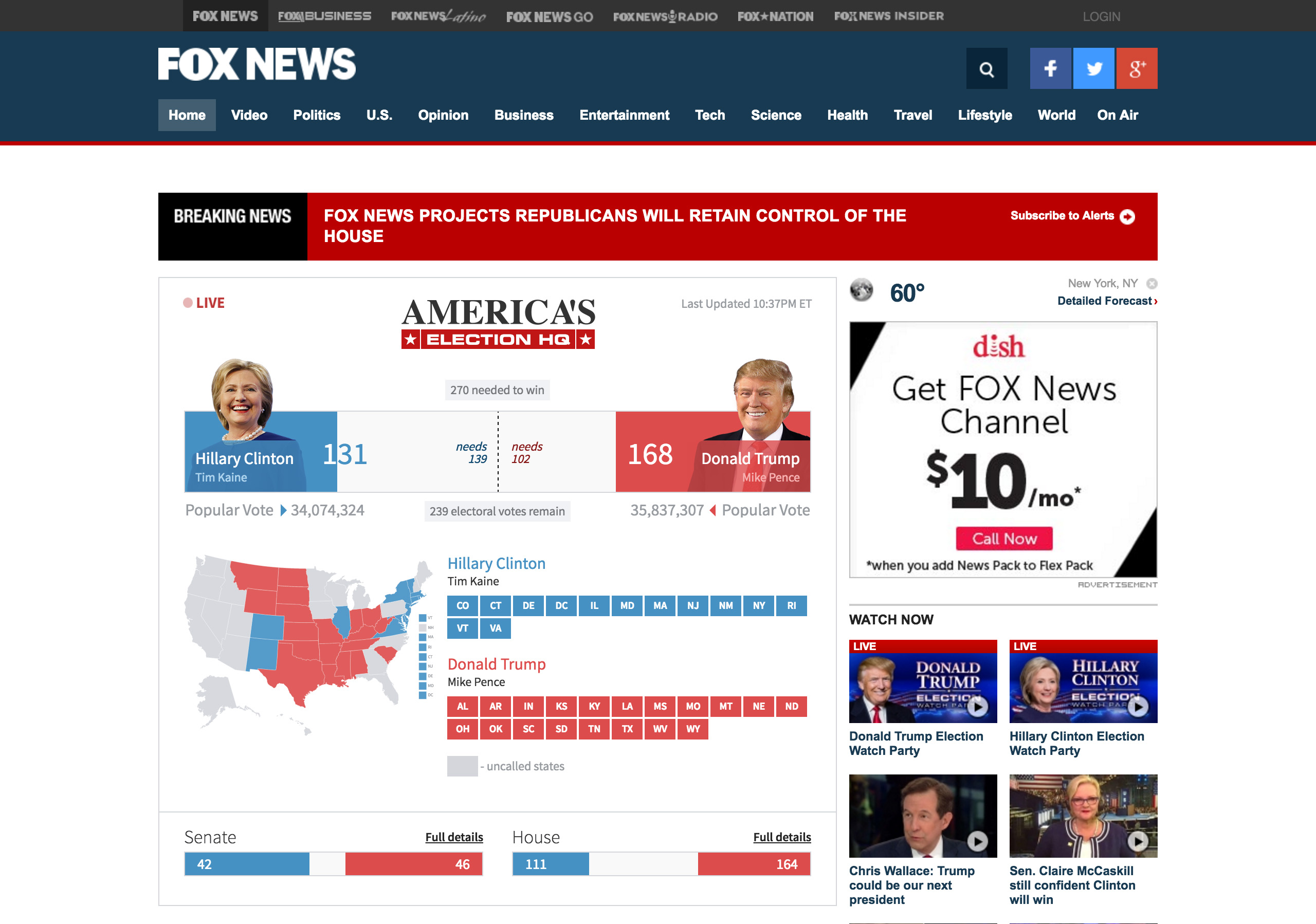 Dissecting S Election Results From A Visualize Perspective - Fox news electionelection results us county map