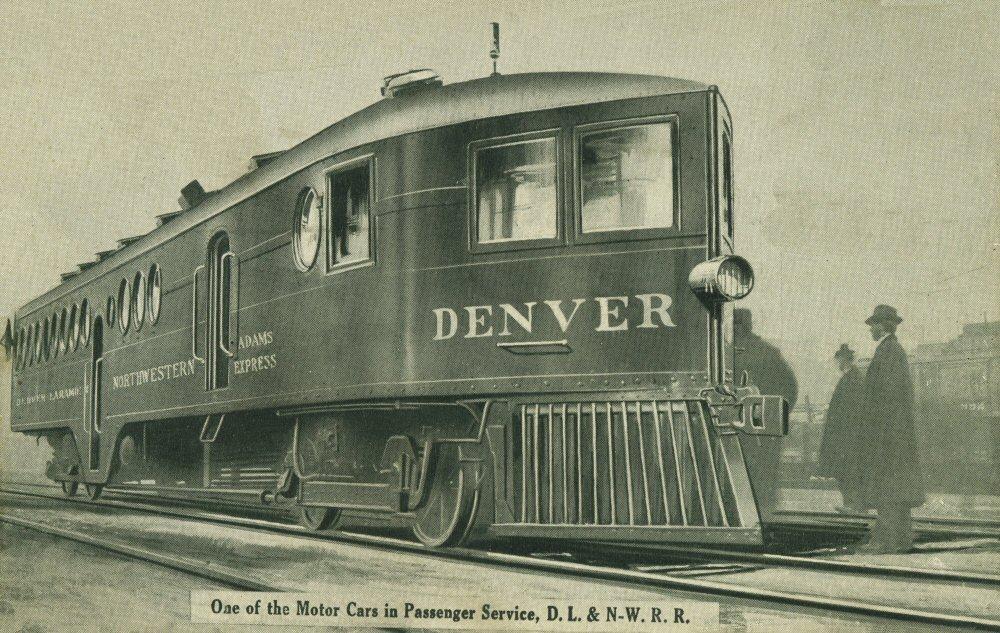 Denver laramie northwestern railroad the mckeen motor for Madison motors madison va