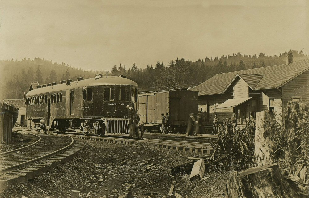 Salem falls city and western railway the mckeen motor for Falls motor city used cars