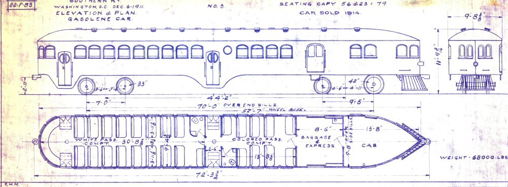 The mckeen motor car website the compendium of knowledge on the blueprint of southern railway 3 courtesy of marvin black collection malvernweather Image collections