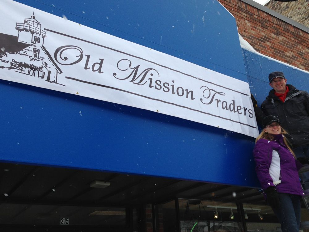 Old Mission Traders Opening