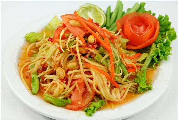 Papaya Salad - Pi-Tom's Thai Cuisine