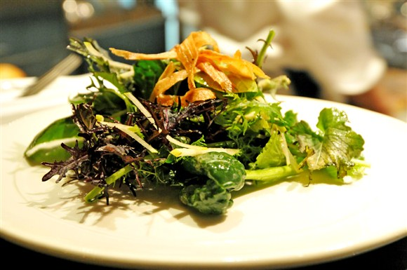 Mustard Greens Salad (CURRENTLY NOT AVAILABLE)  - Keriwa Cafe