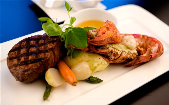 Surf and Turf - Rosewater