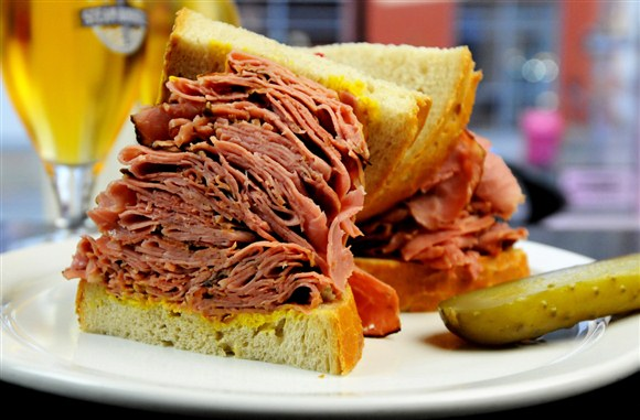 Montreal Smoked Meat (Gigantic) - Corned Beef House