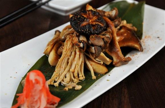 Shoyu-Mirin Glazed Mixed Mushrooms - Blowfish