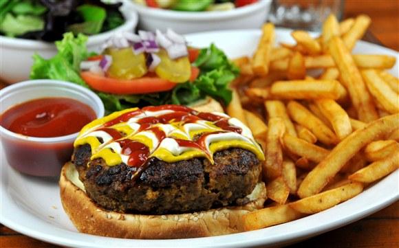 Homemade Burger & Fries - Future Bistro