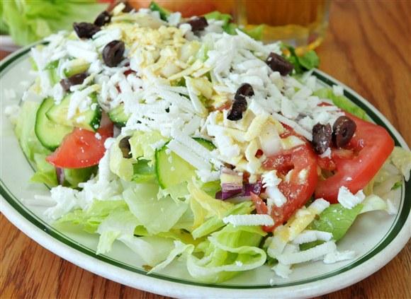 Greek Salad - Vesta Lunch
