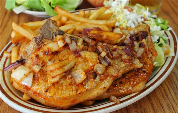 Pork Chops - Vesta Lunch