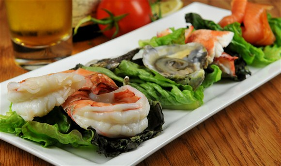Seafood Platter - Barberian's Steakhouse
