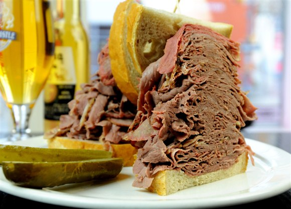 Roasted Beef Brisket (Colossal) - Corned Beef House