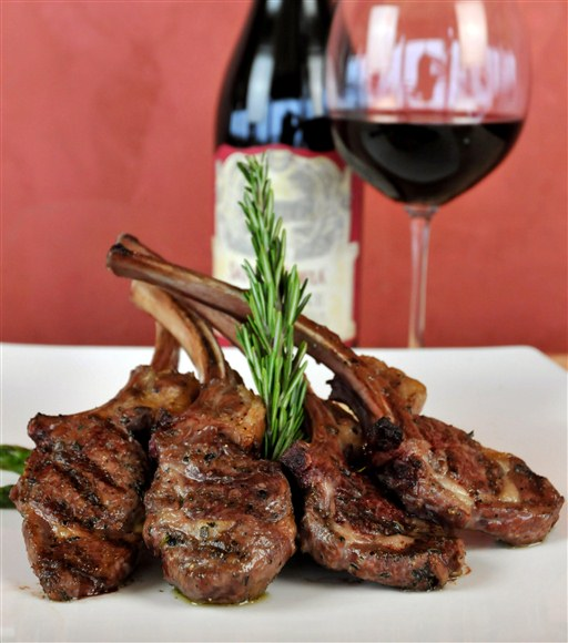 Washington Rack of Lamb - Toula