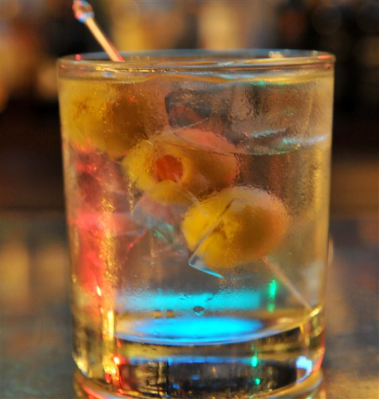 Martini on the Rock - Barberian's Steakhouse