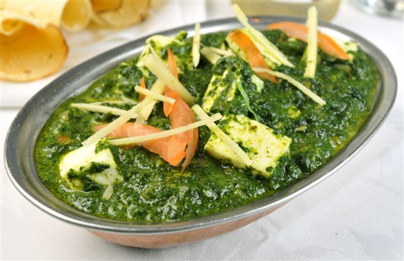 Palak paneer for Aroma indian cuisine menu