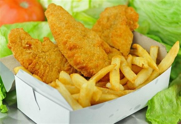 Chicken Fingers Combo (3pcs) - Retro Burger