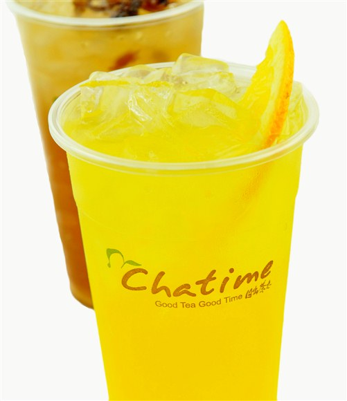 Passion Fruit Green Tea - Chatime Toronto
