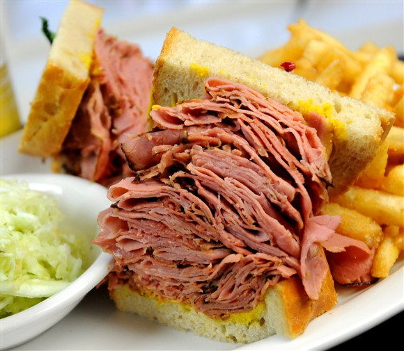 Corned Beef Sandwich (Huge) - Corned Beef House