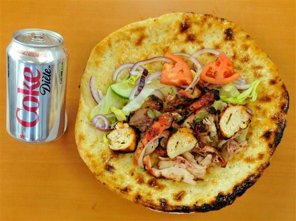Chicken Wrap Combo - Mehran Restaurant