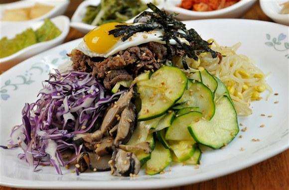 Bibimbap with Bul Go Gi Beef - Seor Ak San