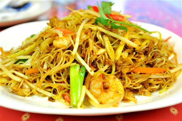 Singapore Fried Noodle - Gourmet Malaysia