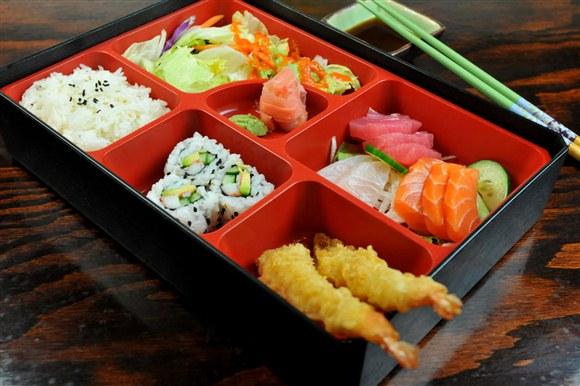 Sashimi Bento - Michi Sushi & Roll