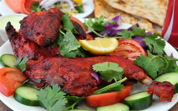 Chicken tandoori half - photo#11