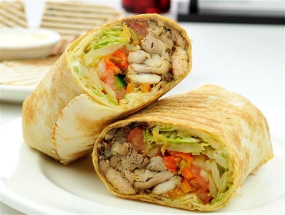 Chicken Shawarma - Oaza Shawarma
