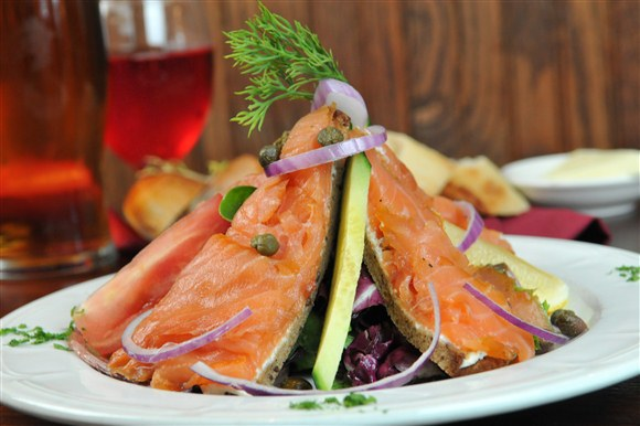 Smoked Salmon Salad - P.J. O'Brien