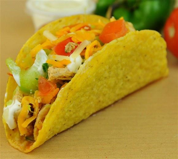 Chicken Crispy Taco - BarBurrito