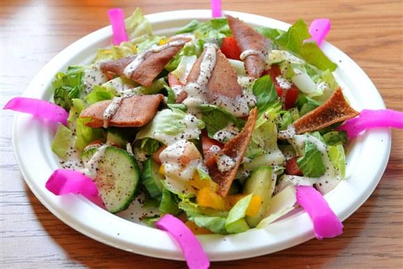 Fattoush Salad - Shi Shawarma