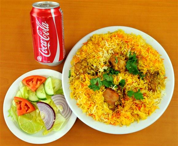 Chicken Biryani Combo - Mehran Restaurant