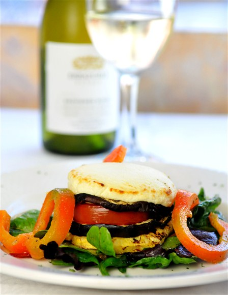 Grilled Goat Cheese - Frascati