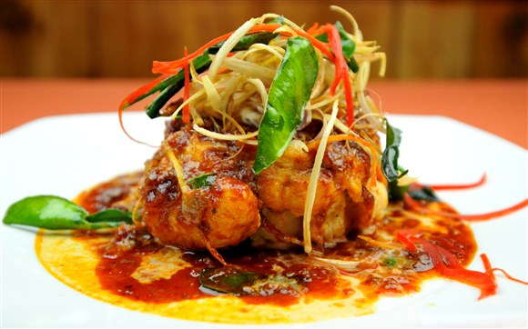 Lemongrass Fish - Thai Country Kitchen