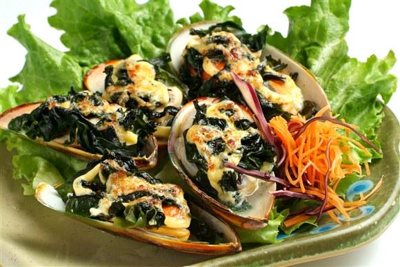 Green Mussel Yaki - Sushi Xtra