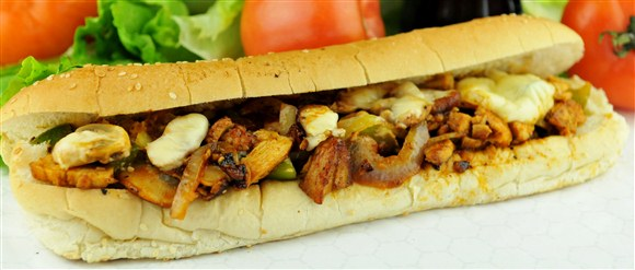 Classic Chicken Philly - Retro Burger