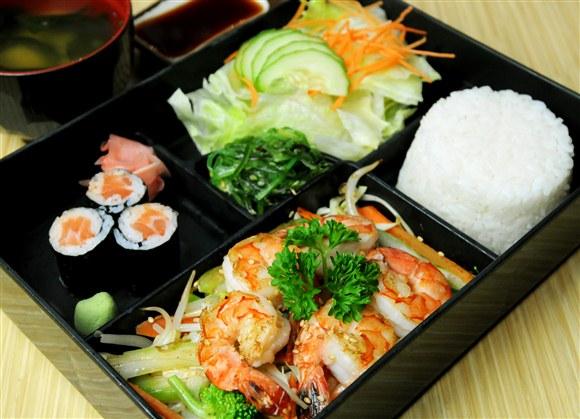 Shrimp Teriyaki - Sushi Garden