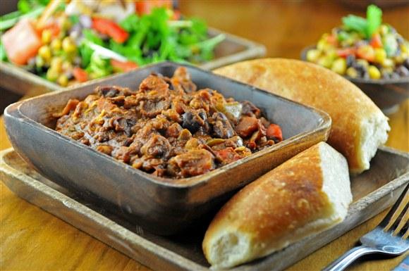 Veggie Chili - Lou Dawg's
