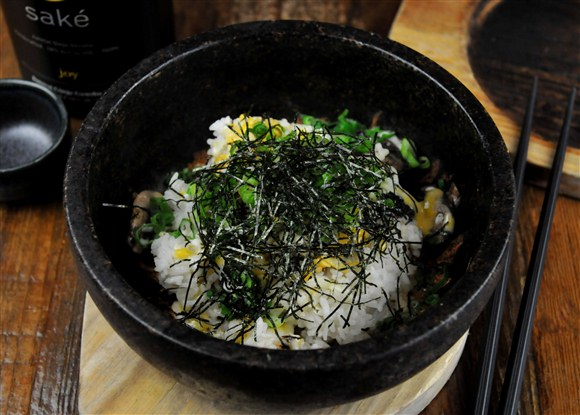 Knoko Cheese Bibimbap - Guu Izakaya