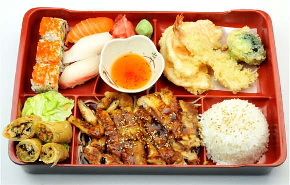 Chicken Teriyaki Bento Box - MIO Japanese and Thai Fusion (Closed- currently Chinese Northern Flavour Restaurant)