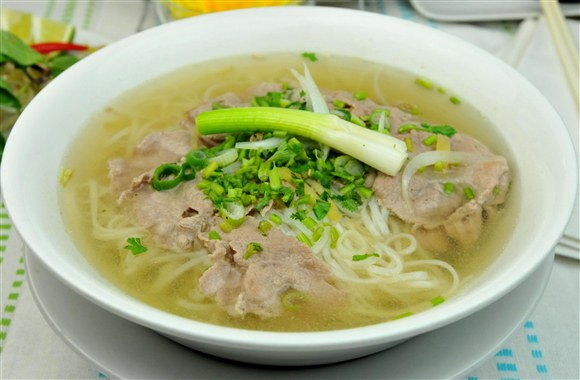 Rare Beef Rice Noodle Soup - Pho Kim's Restaurant (Closed)