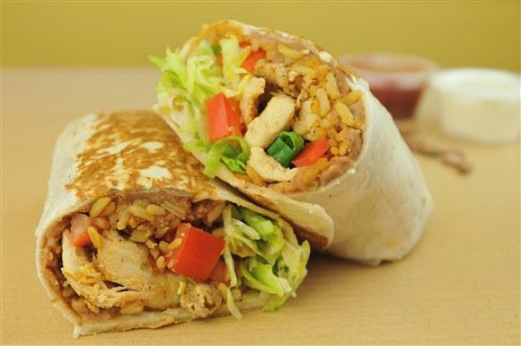 Chicken Burrito - BarBurrito