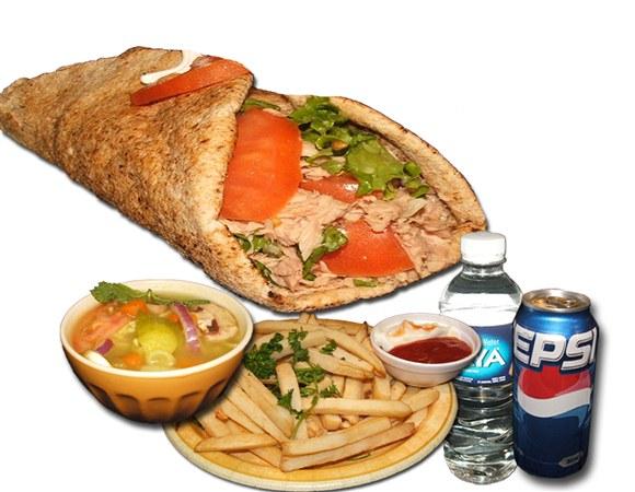 Tuna Sandwich Combo - Wrap and Grab
